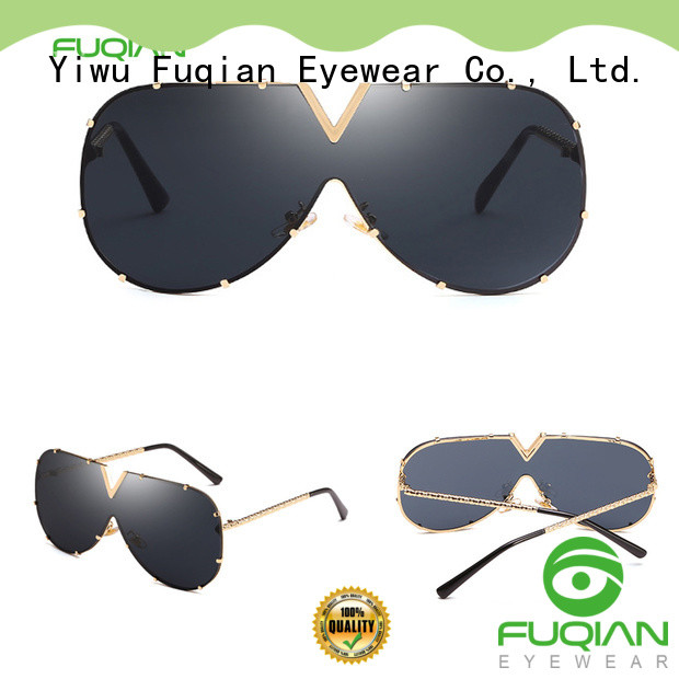 Fuqian female designer sunglasses customized for sport