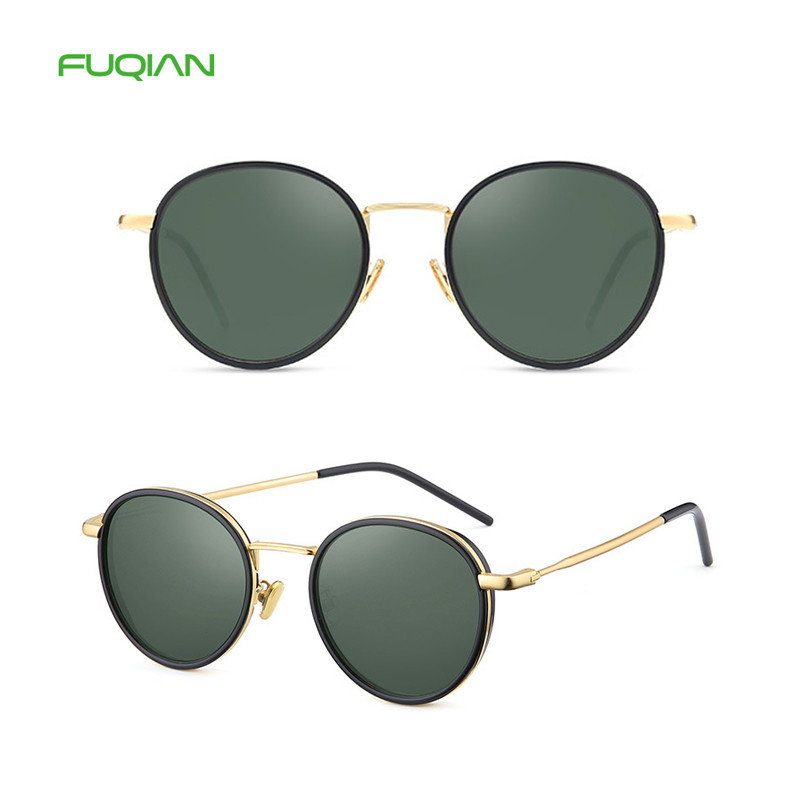2019 Brand Designer rounded womens oversized vintage sunglasses with UV400 protection2019 Brand Designer rounded womens oversized vintage sunglasses with UV400 protection