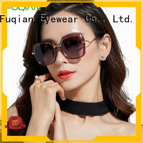 stylish women's polarized mirrored sunglasses customized for sport