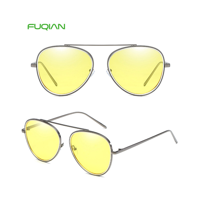 2019 Wholesale Colorful Frog Small Round Frame Women Ladies Sunglasses