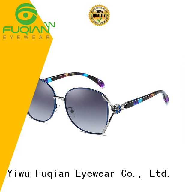 Fuqian fashionable women's sunglasses company for lady