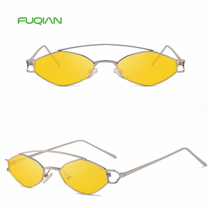 2019 Fashion smart oval metal frame stock goods sunglasses women with CE FDA UV4002019 Fashion smart oval metal frame stock goods sunglasses women with CE FDA UV400