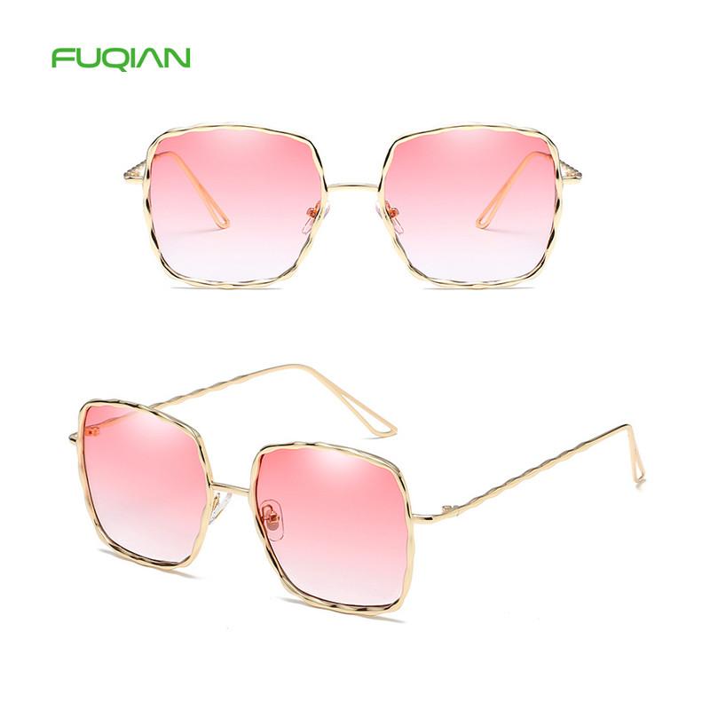 China wholesale market square ocean sunglasses fancy metal frame uv400 women sunglassesChina wholesale market square ocean sunglasses fancy metal frame uv400 women sunglasses