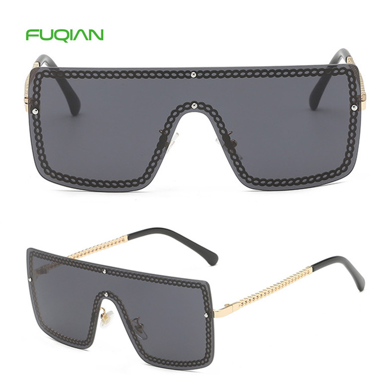 2019 Photochromic Square Silicone One Piece ChainLadies Sunglasses2019 Photochromic Square Silicone One Piece Chain Ladies Sunglasses