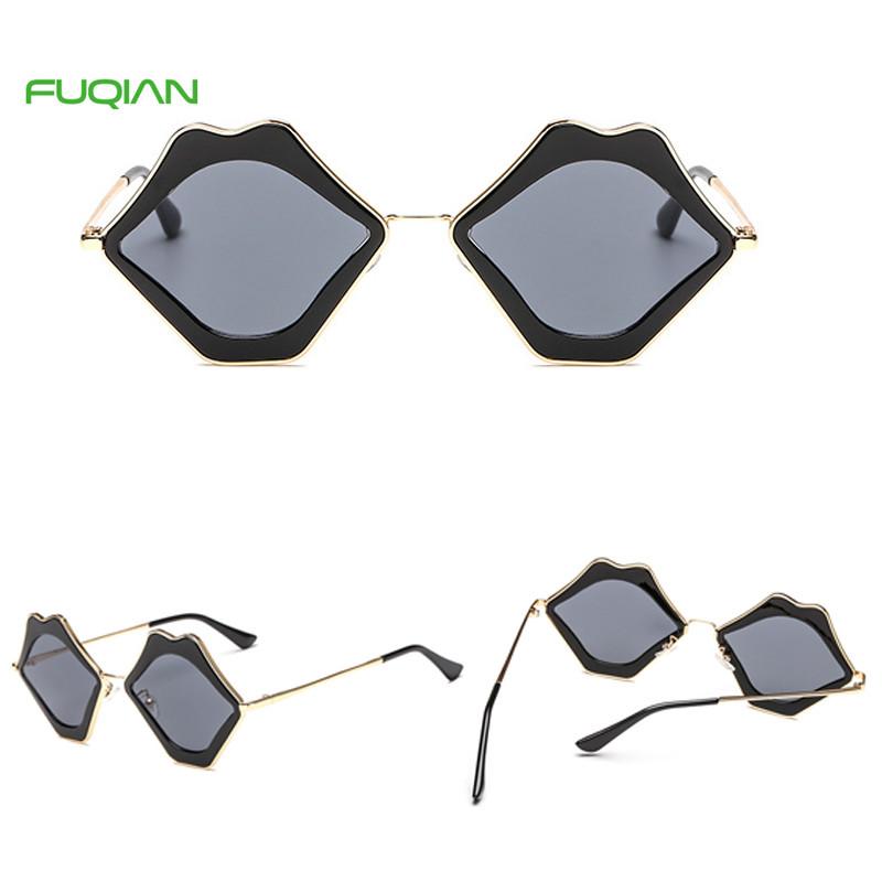 Wholesale Chracteristic Mid Sized Lip Polgyon Frame Ladies UV400 SunglassesWholesale Chracteristic Mid Sized Lip Polgyon Frame Ladies UV400 Sunglasses