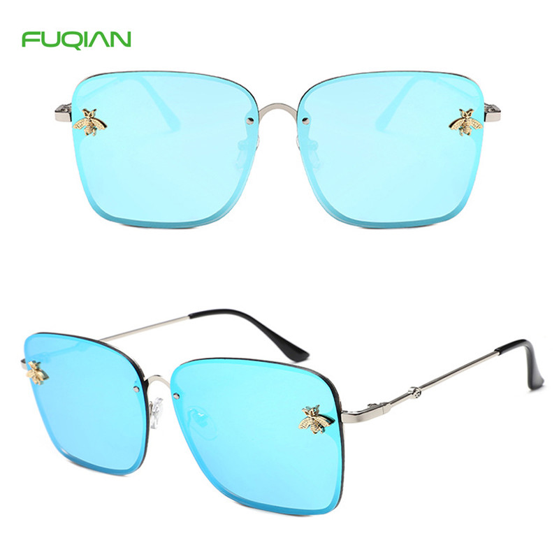 High QualityPrivate Label Little bee Photochromic Square Women SunglassesHigh Quality Private Label Little bee Photochromic Square Women Sunglasses