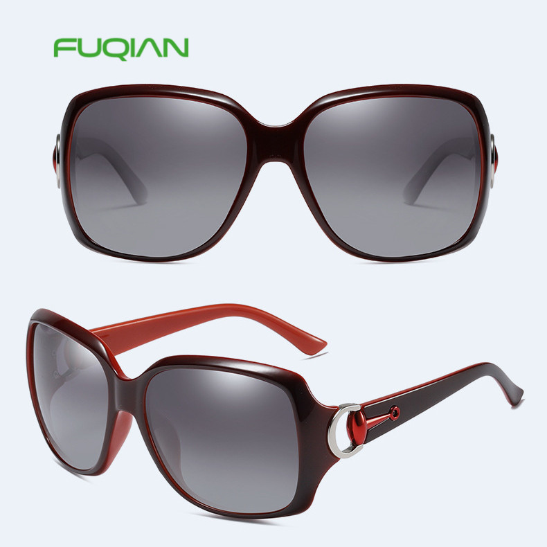 Classic luxurysunglasses square women polarized eyewear with nice frame Classic luxury  sunglasses square women polarized eyewear with nice frame