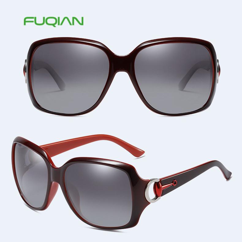 Classic luxurysunglasses square women polarized eyewear with nice frameClassic luxury sunglasses square women polarized eyewear with nice frame