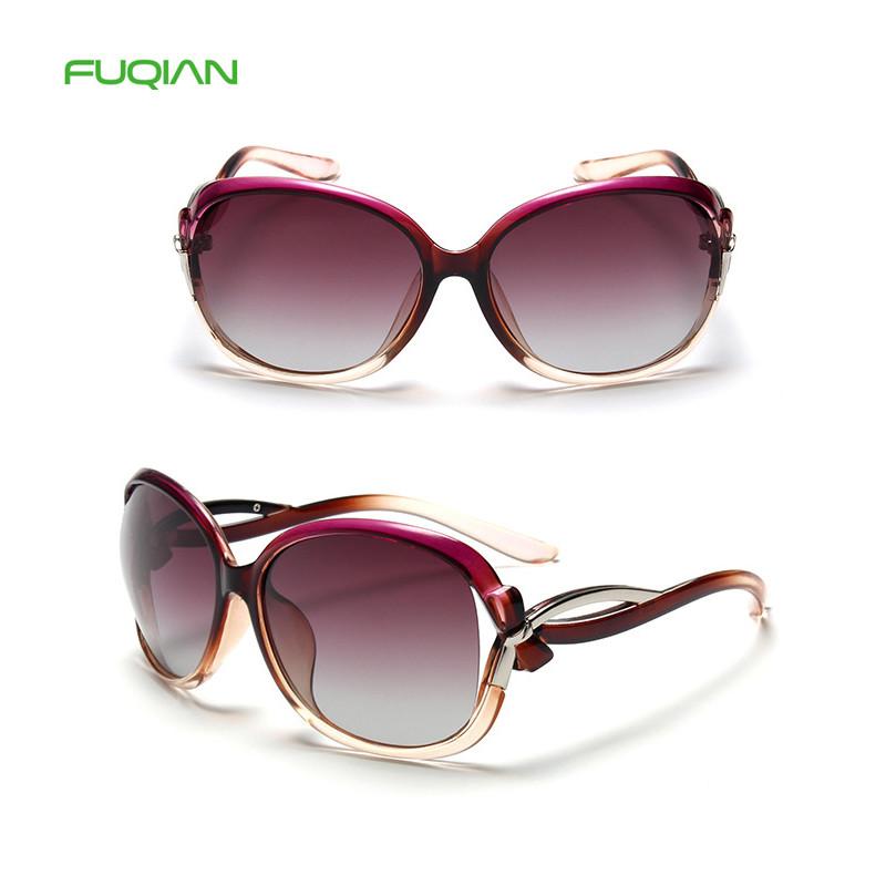 Fancy brand plastic frame polarized shipping oversized sunglasses women 2019Fancy brand plastic frame polarized shipping oversized sunglasses women 2019