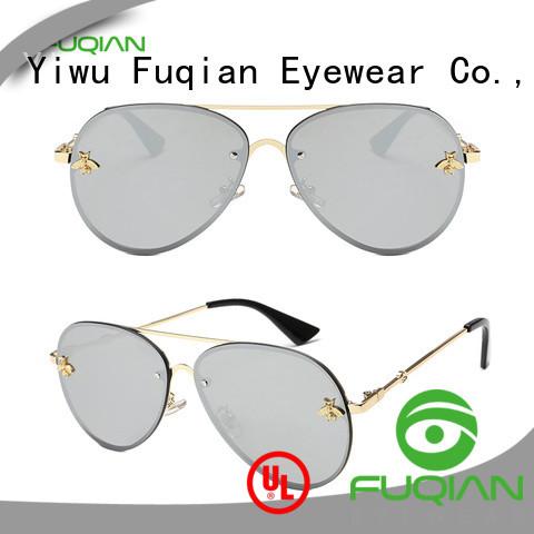 Fuqian female designer sunglasses factory for racing
