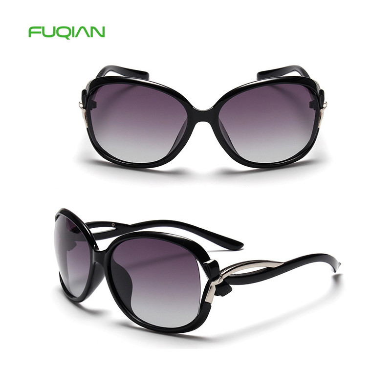 Fancy brand plastic frame polarized shipping oversized sunglasses women 2019 Fancy brand plastic frame polarized shipping oversized sunglasses women 2019