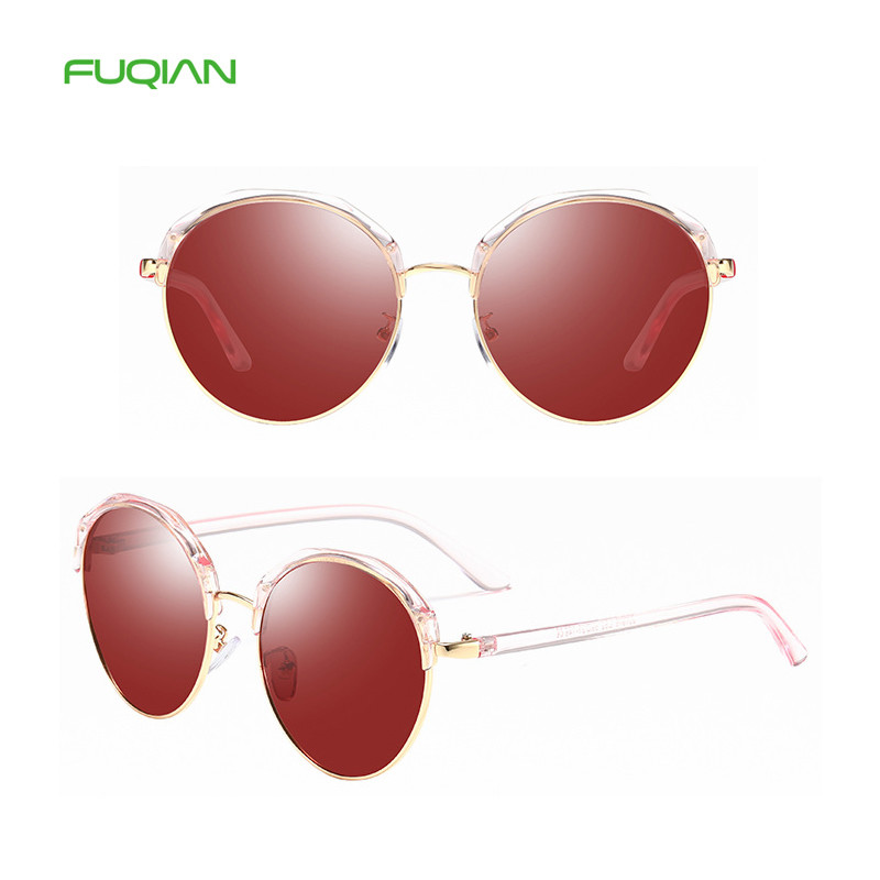 Beautiful new arrival fancy frame ladies sun glasses shipping holiday round polarized women sunglasses 2019Beautiful new arrival fancy frame ladies sun glasses shipping holiday round polarized women sunglasses 2019