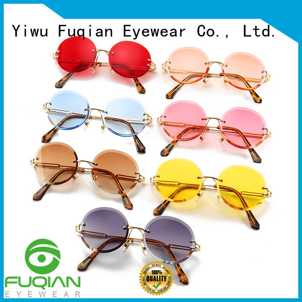 Fuqian lady oversized sunglasses womens customized for racing