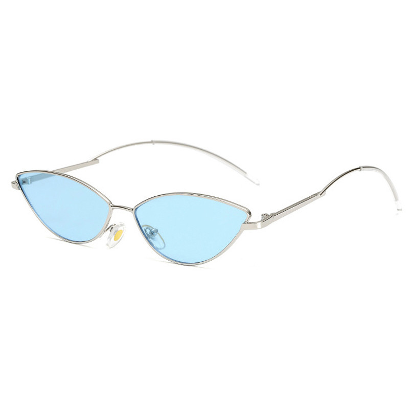 New Trendy Vintage Small Alloy Frame Shades Sexy Cat EyeWomen Oval SunglassesNew Trendy Vintage Small Alloy Frame Shades Sexy Cat Eye  Women Oval Sunglasses