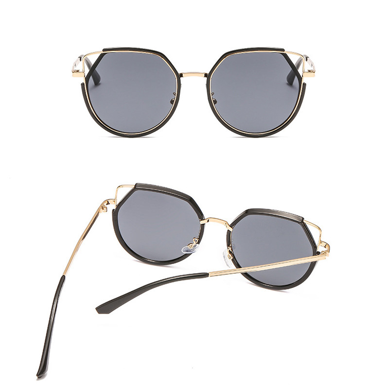 2019 Fashion polygon trend Women Sunglasses Female Retro Cat Eyes Sunglass Gafas De Sol Mujer