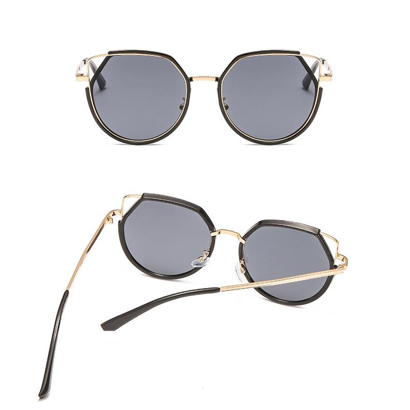 2019 Fashion polygon trend Women Sunglasses Female Retro Cat Eyes Sunglass Gafas De Sol Mujer