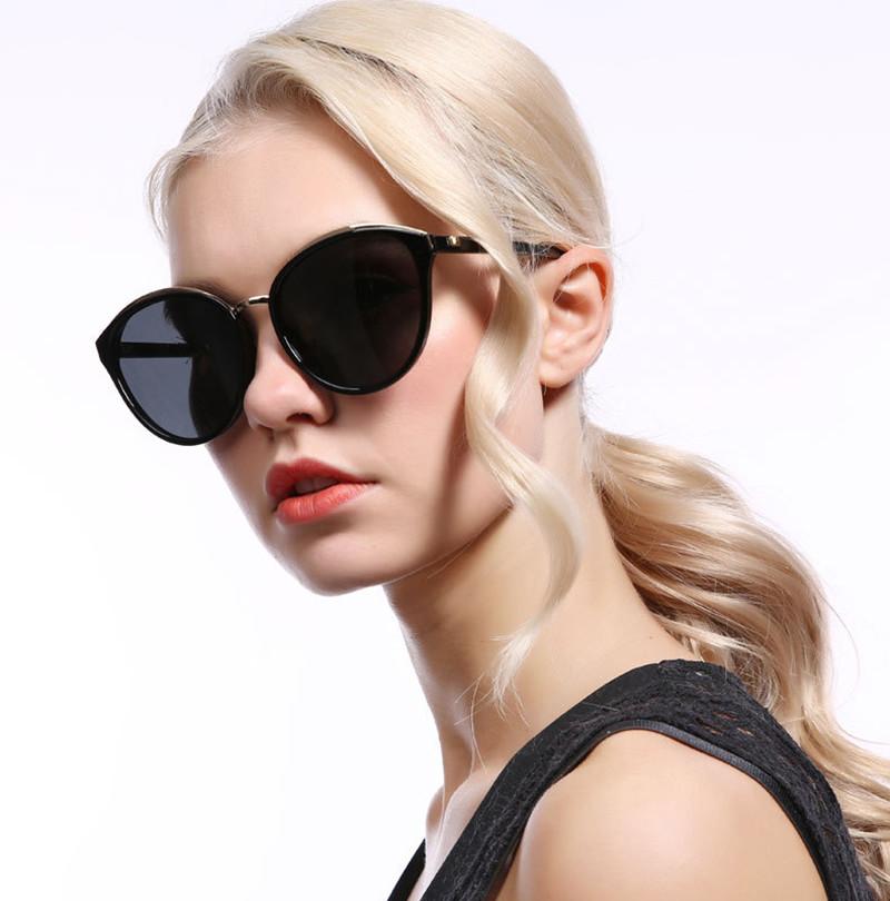 2019 Beautiful fashion women polarized sunglasses gold rims plastic tac holiday female sunglasses2019 Beautiful fashion women polarized sunglasses gold rims plastic tac holiday female sunglasses