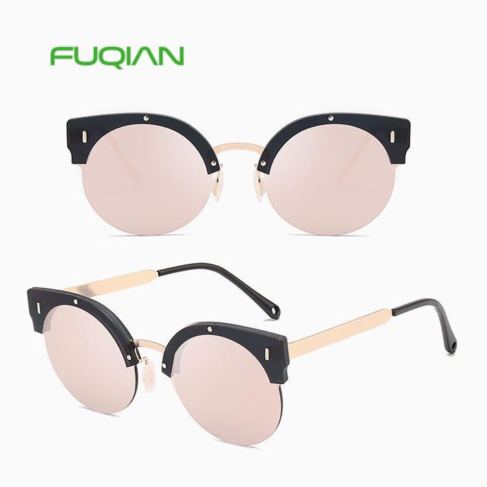 Amazon ali express drop shipping cat3 big frame semi rimless eyeglasses women sunglassesAmazon ali express drop shipping cat3 big frame semi rimless eyeglasses women sunglasses