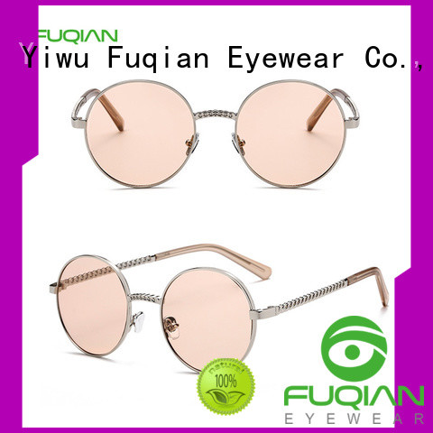 Fuqian women women's square sunglasses for business for lady