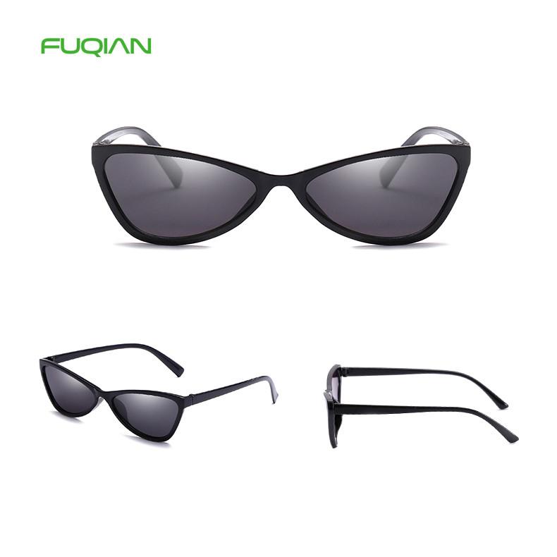 Trend Personality OEM Ocean Lens Small Cat Eye Frame Ladies Sunglasses