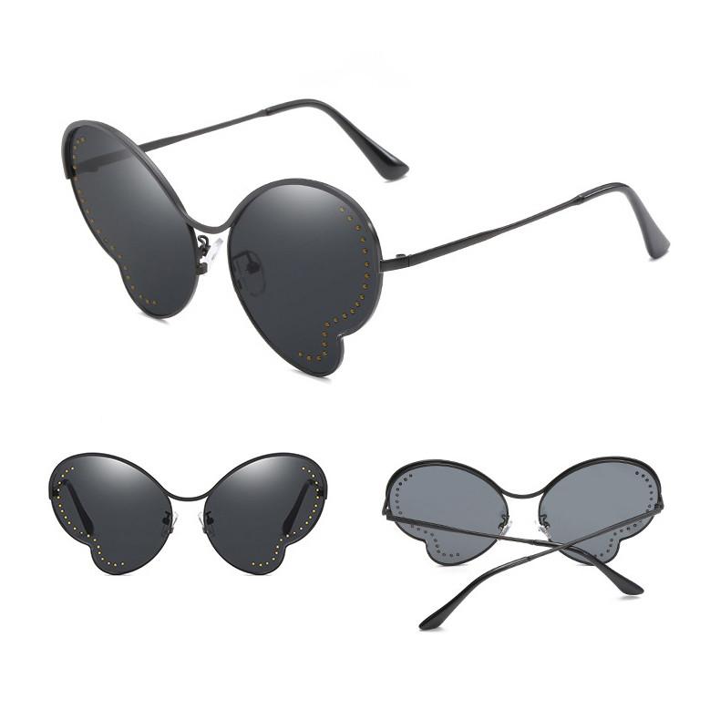 Fashion Butterfly Irregular Shaped Cat 3 UV400 Shades Women Sunglasses