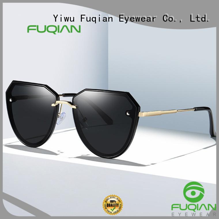 Fuqian uv polarized sunglasses manufacturers for racing
