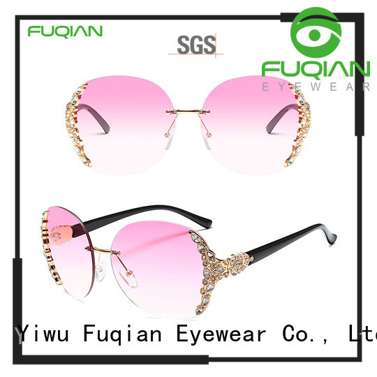 Fuqian oversized designer sunglasses buy now for lady