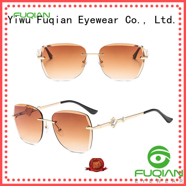 Fuqian stylish sunglasses for ladies factory for lady