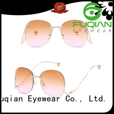 Fuqian Wholesale polarized sunglasses price customized for women