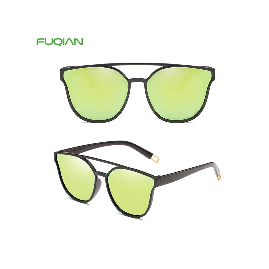 2019 Mirror Metal Frame Cheap Brand Designer Cat 3 UV400 Women Eyewear