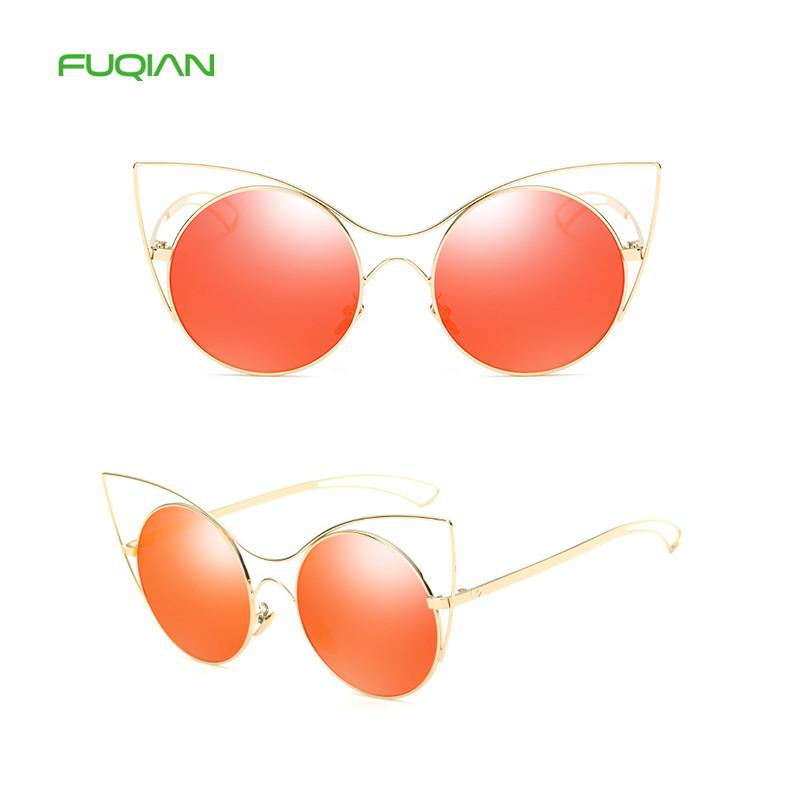 Vintage Summer Cat Eye Designer Women Ladies UV400 Shades Sunglasses