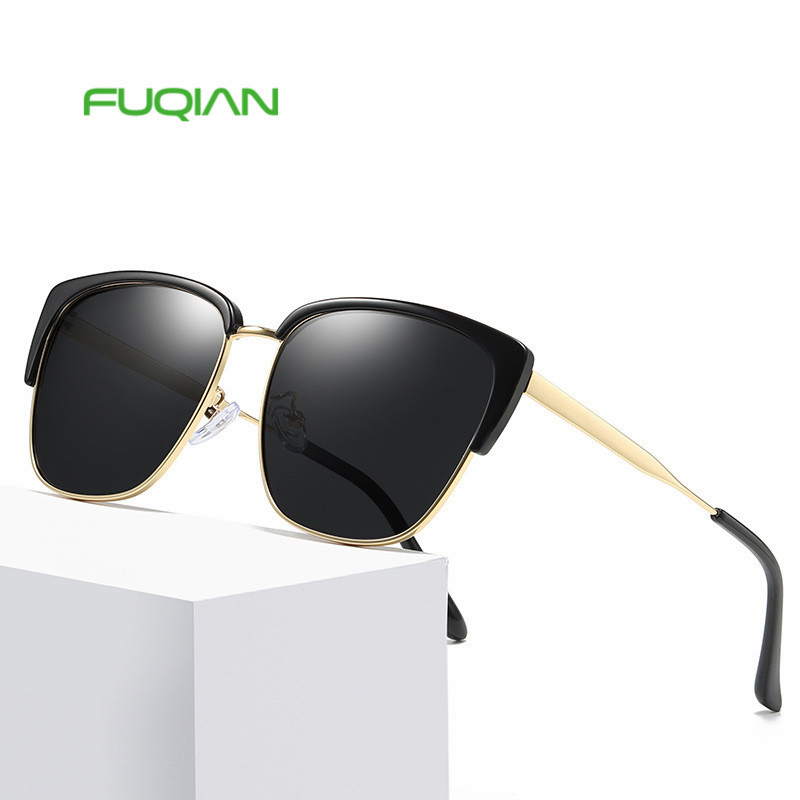Fuqian eyewear square personality women sun glasses 2019 custom logo printing ladies sunglasses Fuqian eyewear square personality women sun glasses 2019 custom logo printing ladies sunglasses