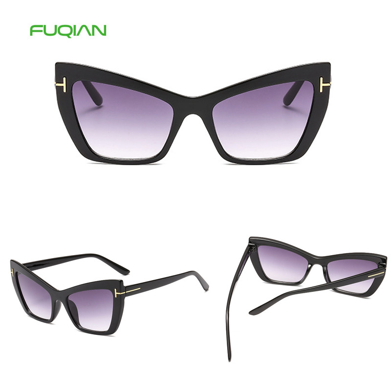 New Arrival Shade Multi Color Rice Nail Plastic Women Cat Eye SunglassesNew Arrival Shade Multi Color Rice Nail Plastic Women Cat Eye Sunglasses