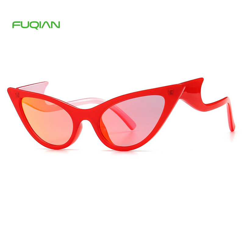 2019 Private Label PC Frame PC Lens Personality Cat Eye Sunglasses Women2019 Private Label PC Frame PC Lens Personality Cat Eye Sunglasses Women