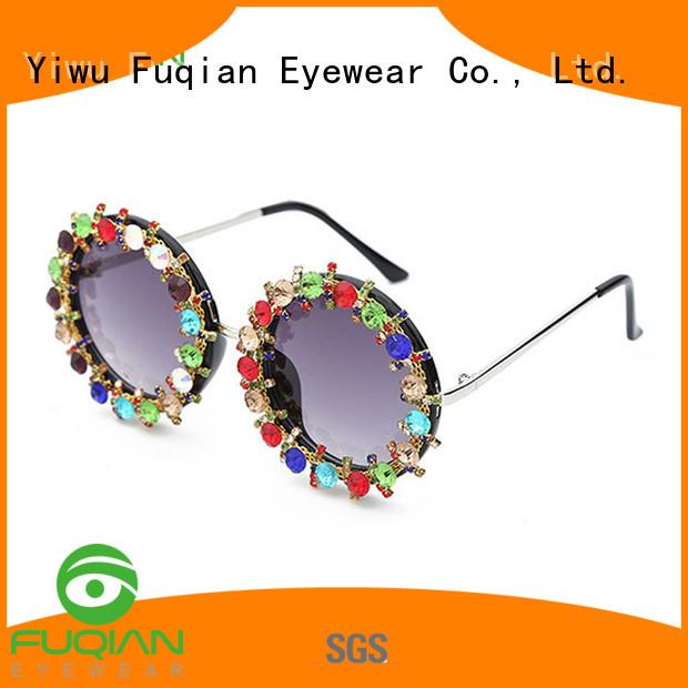 Fuqian polarized sunglasses sale customized for lady