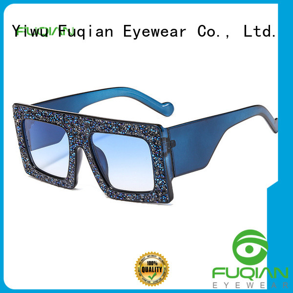 Fuqian Latest oversized designer sunglasses manufacturers