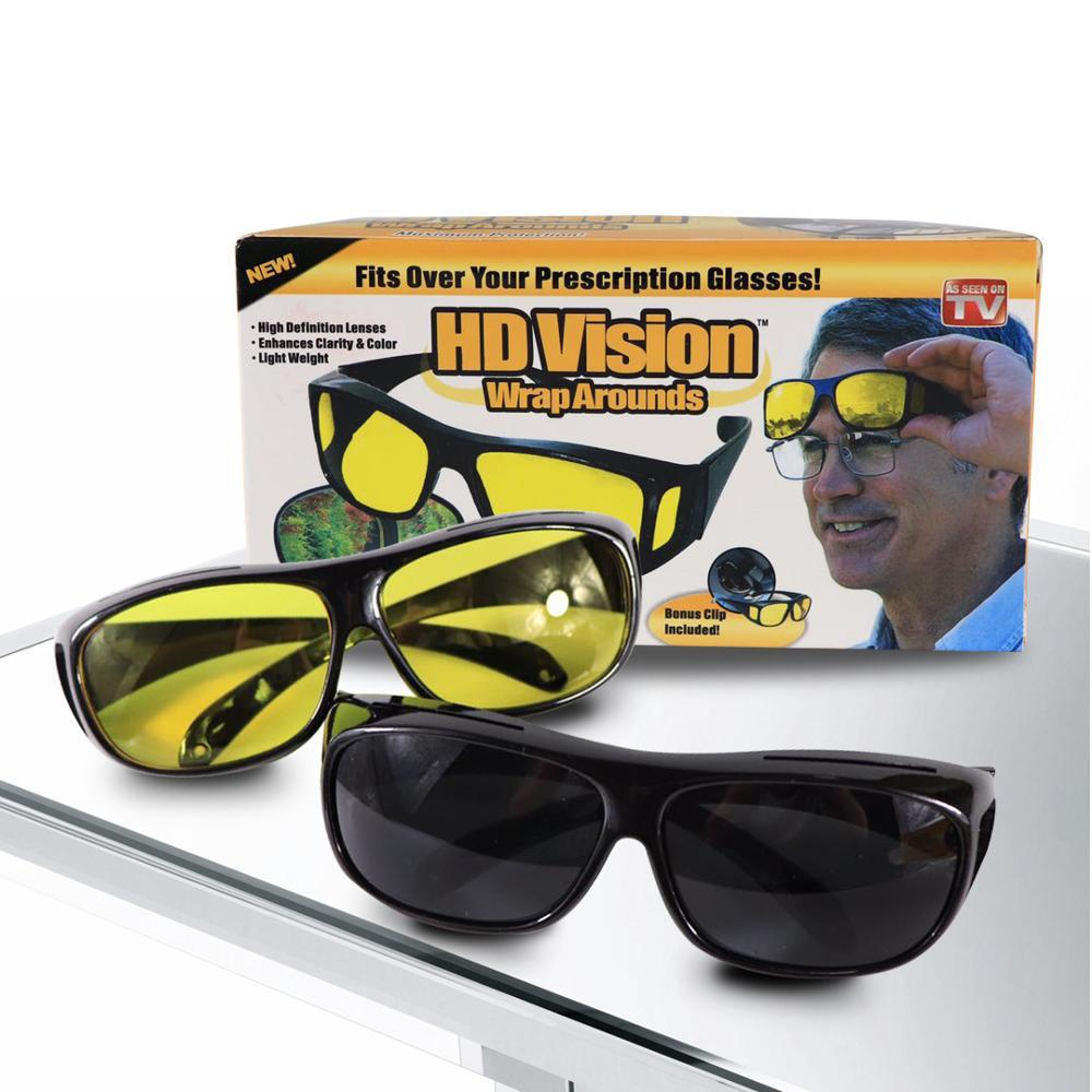 2019 Hot Night Vision Goggles Dust-Proof Riding2 packs Glasses With Box2019 Hot Night Vision Goggles Dust-Proof Riding 2 packs Glasses With Box