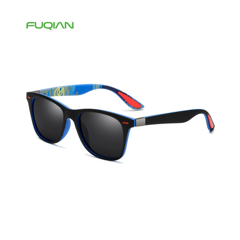 Outdoor DriverDesigner Glasses Authentic Printed Square Polarized Sunglasses MenOutdoor Driver  Designer Glasses Authentic Printed Square Polarized Sunglasses Men