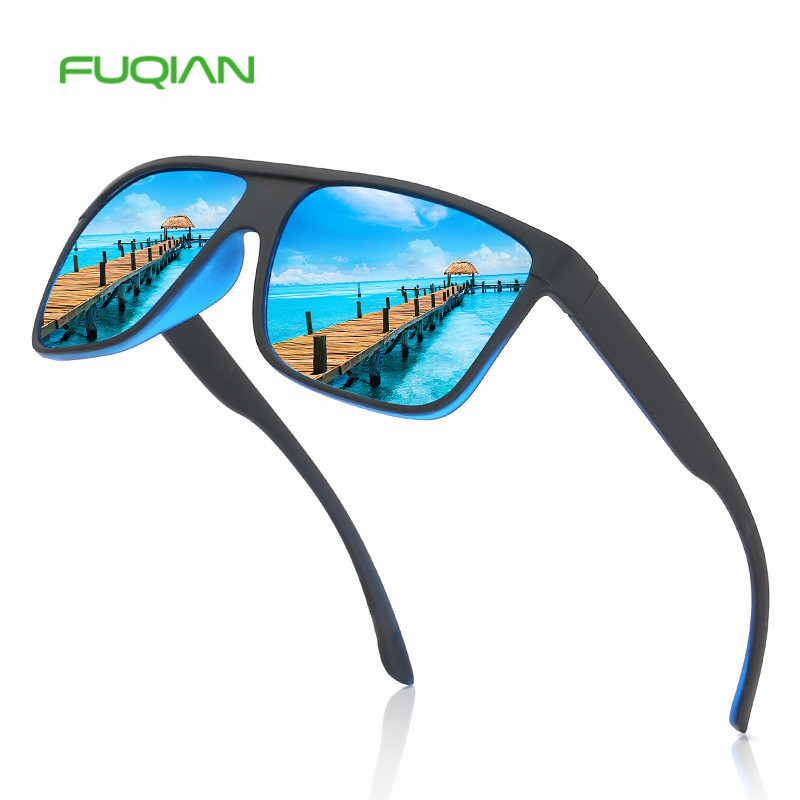 New Arrivals Designer Authentic Printed Frame Mirror Square Cycling Polarized Sunglasses MenNew Arrivals Designer Authentic Printed Frame Mirror Square Cycling Polarized Sunglasses Men