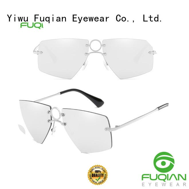 Fuqian glares sunglasses factory for lady