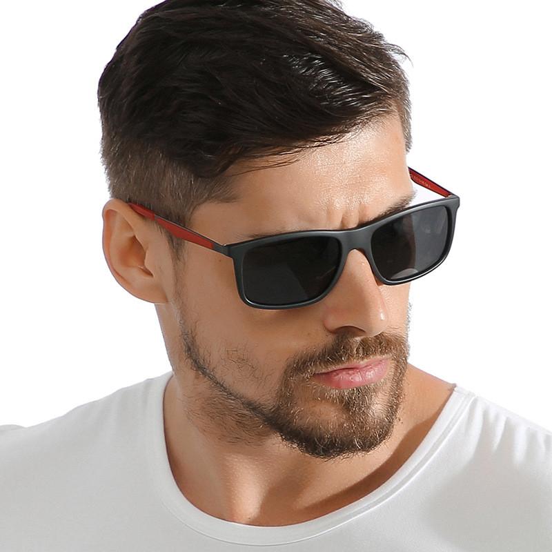 Male driving eyewear case custom logo polarized TR 90 sunglassesMale driving eyewear case custom logo polarized TR 90 sunglasses