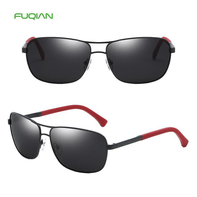 2019Classic male TR90 square sun glasses metal framepolarized men sunglasses2019 Classic male TR90 square sun glasses metal frame polarized men sunglasses with CE FDA