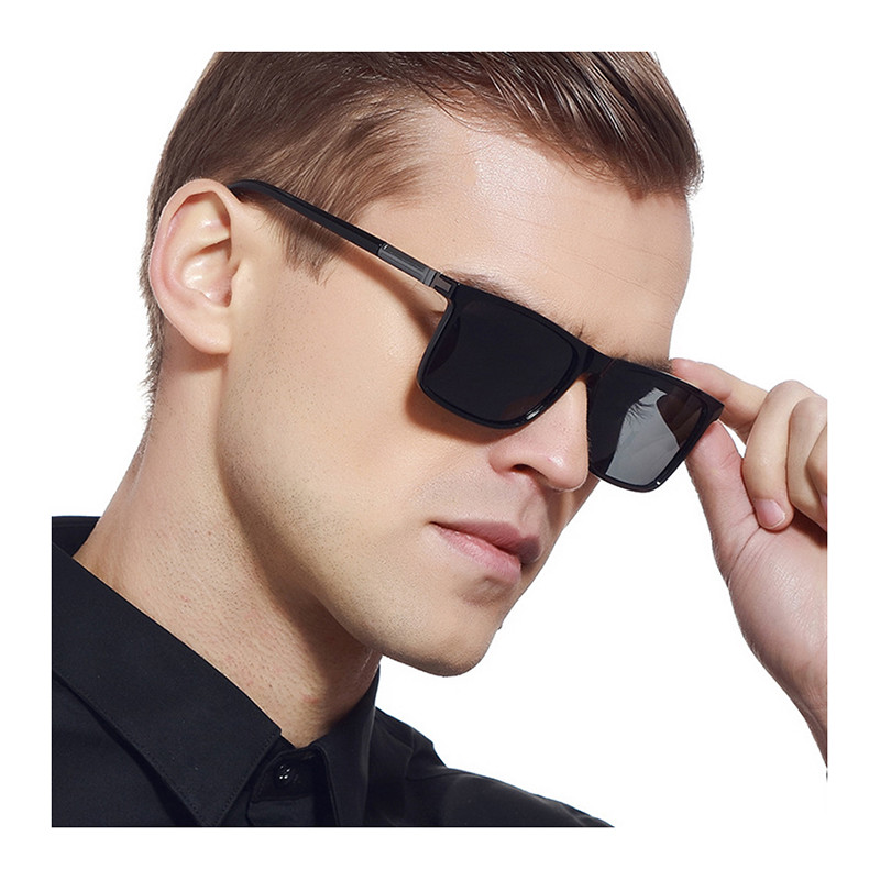 2019 Amazon hot sale TR90 square PC metal frame polarized men sunglasses2019 Amazon hot sale TR90 square PC metal frame polarized men sunglasses