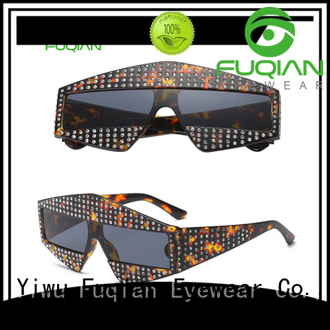 Fuqian lightweight polarized lens sunglasses ask online for lady