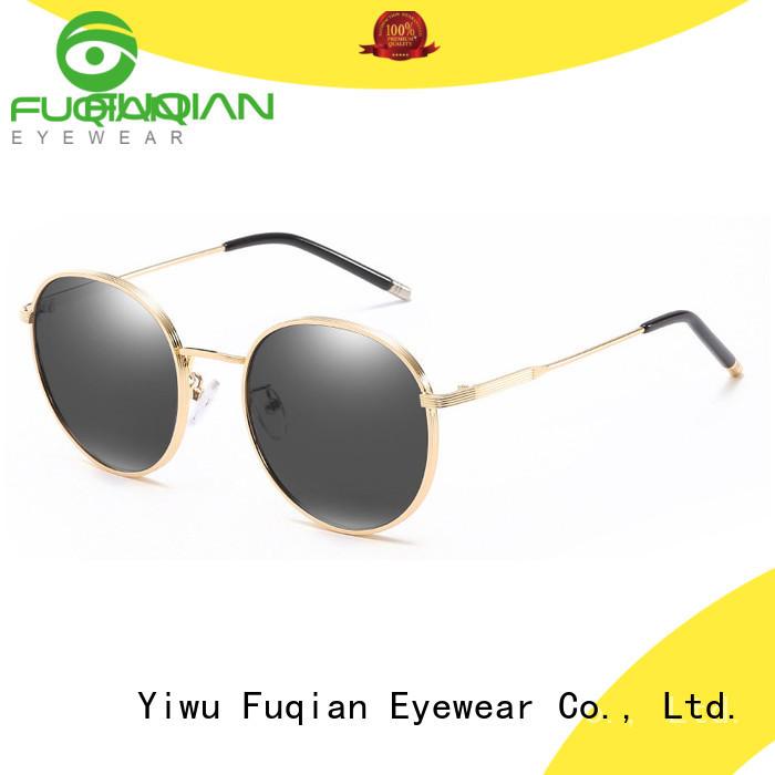 Fuqian stylish oversized designer sunglasses Suppliers
