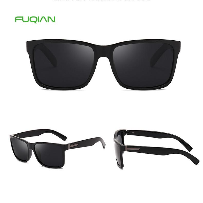 Promotional Men Square Polarized PC Frame Oculos Fashion 2019 Eyewear