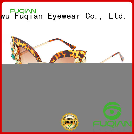 Fuqian Latest free sunglasses company for lady