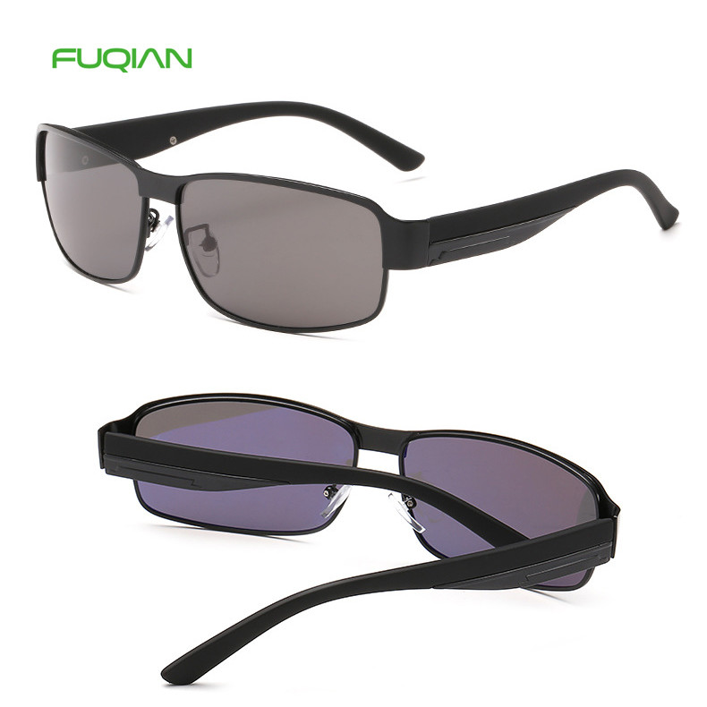 Cool Dazzle OEM Polarized UV400 Small Square Frame Male Men Sunglasses