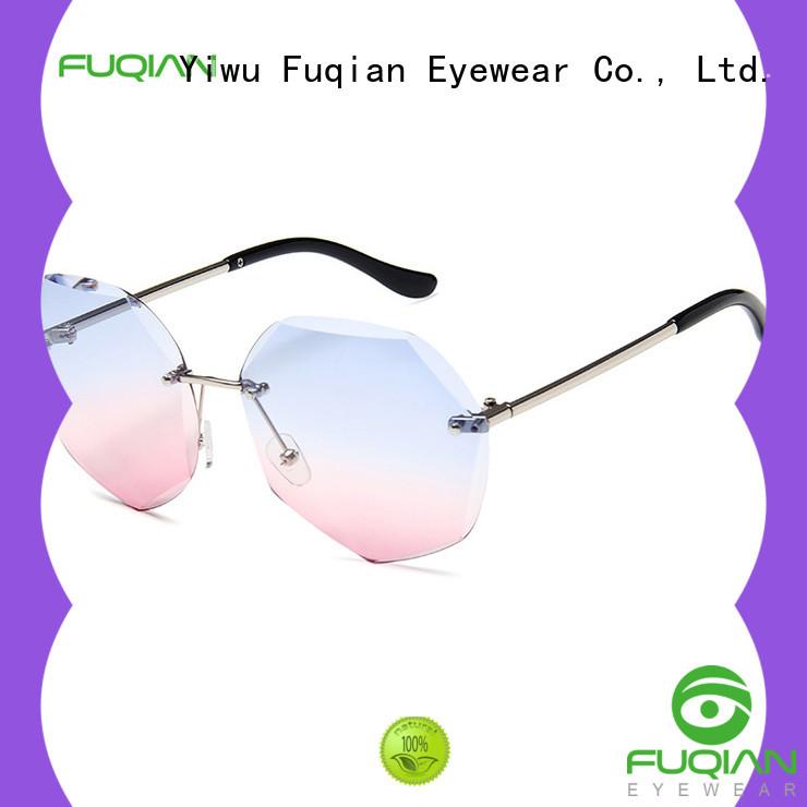 Fuqian Latest mirrored sunglasses women factory for women
