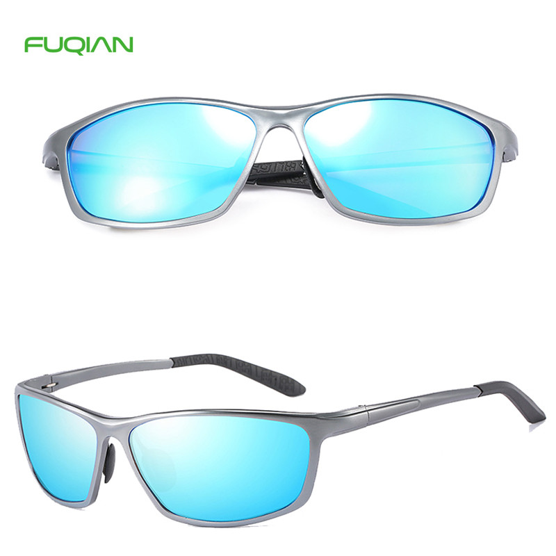 Hot Selling Alloy Frame Aluminum Mg Sports Polarized Men Sunglasses